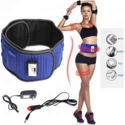 Electric Slimming X5 Times Belt Lose Weight Fitness Massage Sway Vibration Abdominal Belly Muscle W