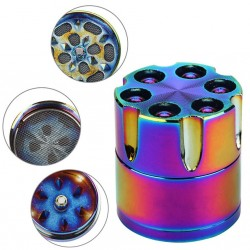 3-layer - Aluminum - Herbal Herb - Tobacco - Grinder