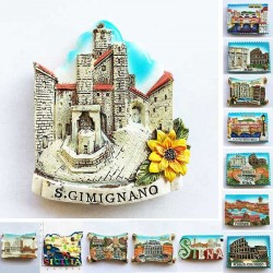 Italia fridge magnets - italy - rome - sicilia - tourism