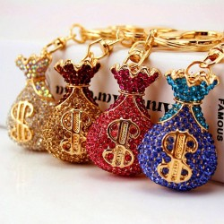 Creative - Crystal - Lucky Money - Keychain