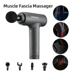 Massage gun - deep muscle relaxation - 6-modes - body massager