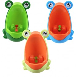 Boys Pee Training Teaching Potty Cool Frog Design |