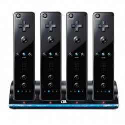 Wii Controller Charger incl. 4 Batteries 2800 mAh