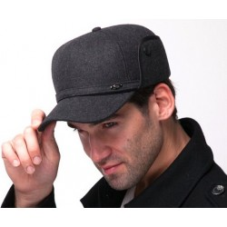 Men's Earmuffs Baseball Cap