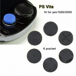 Copri bottoni in silicone per PlayStation PS Vita 6pcs