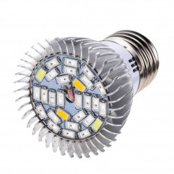 8W E27 Led Grow Light Full Spectrum