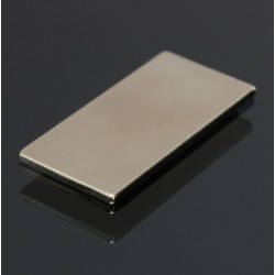 N50 Neodymium Magnet Super Strong Block Cuboid 40 * 20 * 2mm