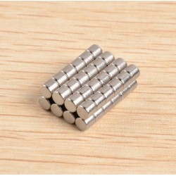 N40 Neodymium Magnet  Strong Disc 3 * 3mm 50pcs
