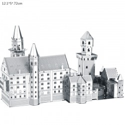 3D Neuschwanstein Metal DIY Puzzle Construction Kit |