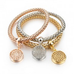 Fashion Round Hollow Women's Bracelet
