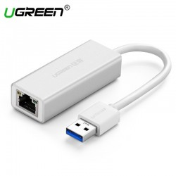 Original Ugreen USB 3.0 to RJ45 Lan Network Card Ethernet Adapter |