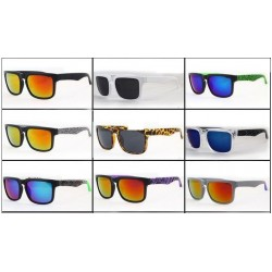Retro Mirror Square Sunglasses Unisex