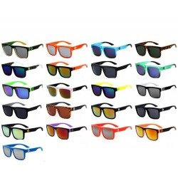 Fashion Coated Mirror UV Unisex Sunglasses