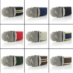 Canvas Military Jeans Belt