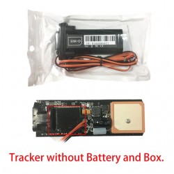 Mini Waterproof Built-in Battery GSM GPS Car Tracker