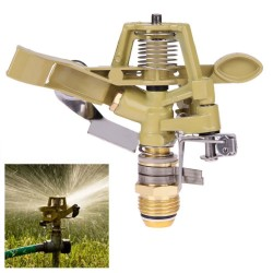 12 Inch Copper Rotating Water Sprinkler Spray Nozzle