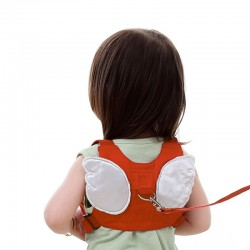 Anti-lost Child Harness Leash With Angel Wings