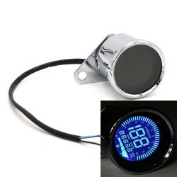 12V digital LCD universal motorcycle speedometer odometer LED