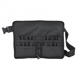 Portable makeup cosmetic bag with belt