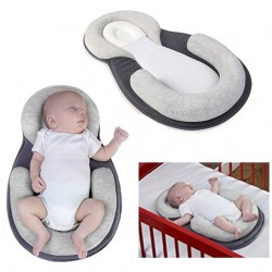 Newborn sleep positioner mattress anti roll bed cushion
