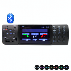 A2DP VX-4202ABT 1 Din 4 Inch Bluetooth USB SD Aux FM stereo car radio
