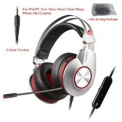 USB 7.1 3.5mm gaming headphones with microphone headset