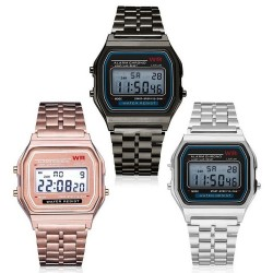 Retro electronic watch - waterproof - unisex