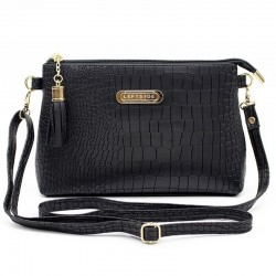 Small elegant bag with tassels