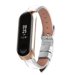Leather band for Xiaomi Mi Band 3 watch