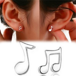 Music notes - stud earrings