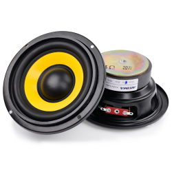 2Pcs 4 inch woofer audio speaker