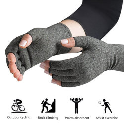 Therapeutic compression gloves - arthritis pain relief - cotton