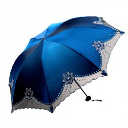 Rain umbrella with lace - UV protection