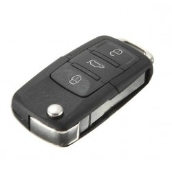 VW Flip Remote Key Case Shell - Golf Passat Polo Jetta Touran*