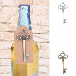 Key shaped bottle opener
