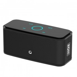 DOSS SoundBox - 2 * 6W - Altoparlante Bluetooth - Controllo touch - Wireless - Audio stereo - Bassi - Microfono incorporato