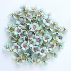 Mini silk artificial daisies for making decoration - DIY art - 50 pieces