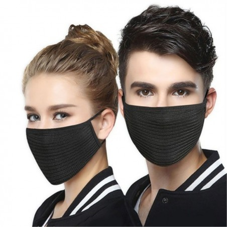 Protective anti-bacterial face mask - dust proof - washable