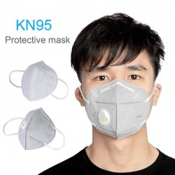 KN95 mouth / face mask with valve - PM2.5 - bacteria proof - anti coronavirus