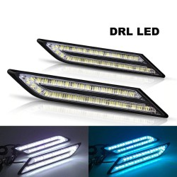 33 SMD LED - DRL car lights - waterproof - 2 pieces