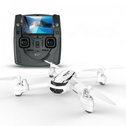 Hubsan H502S X4 DESIRE - FPV - 720P HD Camera - GPS - RTF - White - Mode switch