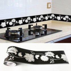 Decorative 3D wall sticker - self adhesive tape - waterproof - 10 * 500 cm
