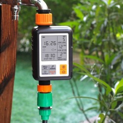 Automatic garden watering - electronic timer - controller - LCD display