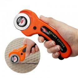 45mm - rotary leather / fabric cutting tool - circular blade