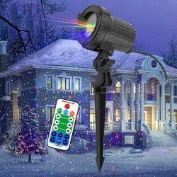 Christmas laser light - projector