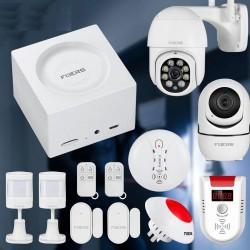 Smart home security - alarm system- wireless - wifi