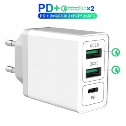 Dual 3.0 USB charger - PD - quick charge
