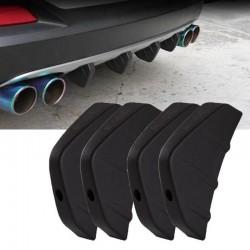 Universale - paraurti posteriore auto - spoiler - modelli auto Audi - 4 pezzi