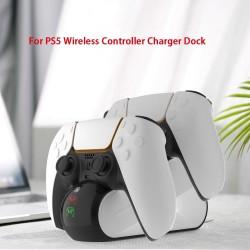 DualSense PS5 Wireless Controller - dual USB charging dock - LED indicator