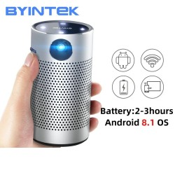 P7 - Smart - Android - Wifi - 1080P - 4K - mini LED projector